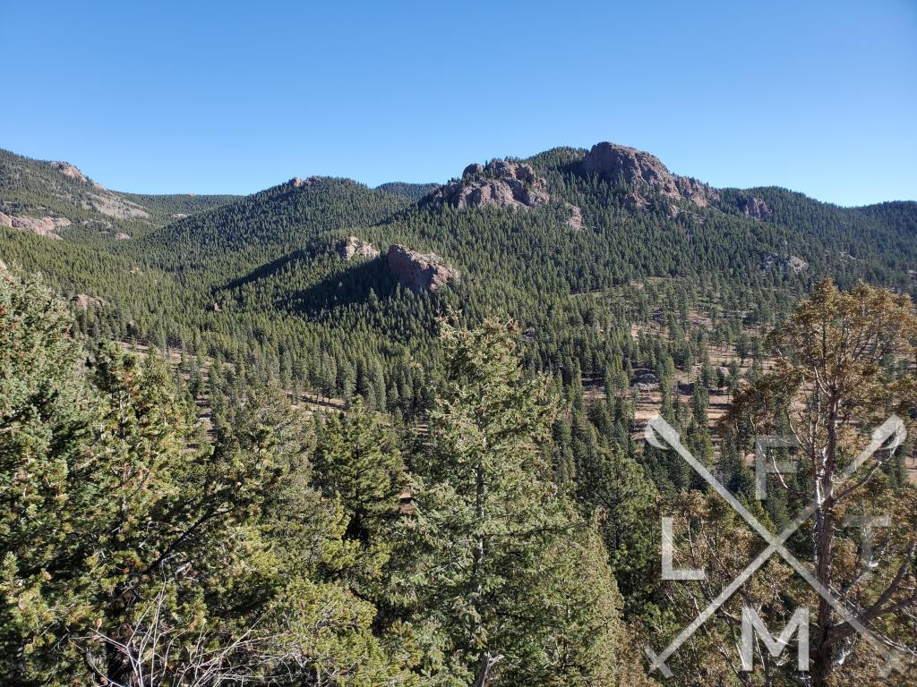 The view of the park from Scout Line trail shows just how large the park is.