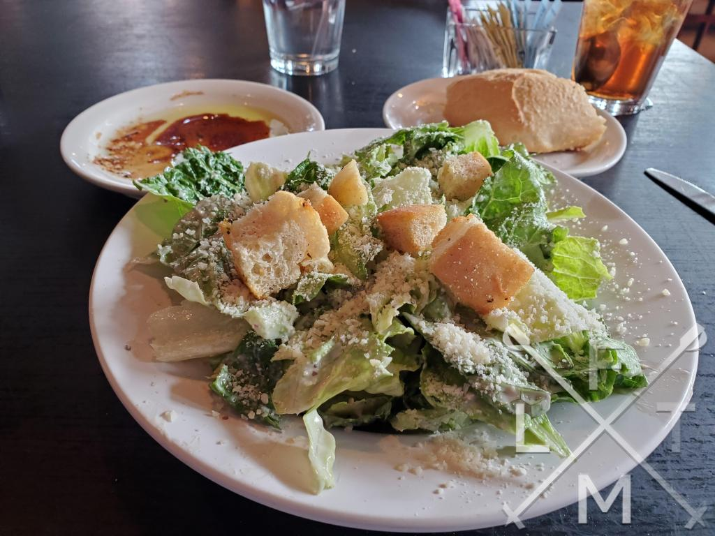 Caesar Salad with home made Caesar Dressing from Paravicini's